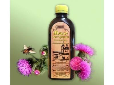 Чертополоховое масло или масло расторопши, расскажем о пользе и вреде этого продукта