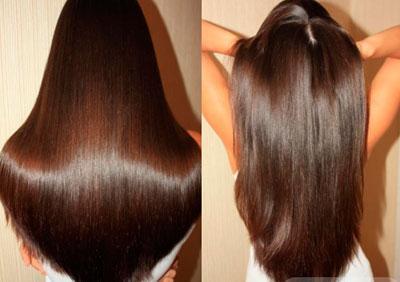 Волосы после использования эфирного масла шалфея