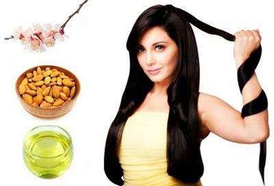 Миндальное масло для улучшения волос