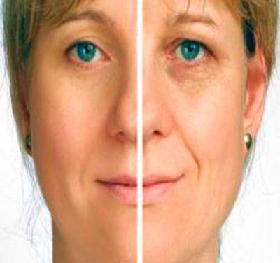 Результат от воздействия шалфея на кожу