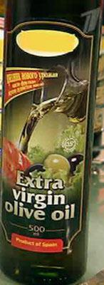 В тёмной бутылке оливковое масло