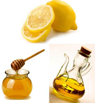 Оливковое масло, мёд и лимон