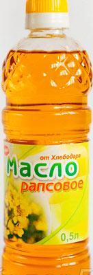 Пищевое рапсовое масло
