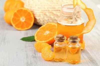 Мандарины и масло мандарина